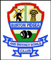 Burton Pidsea Lawn Bowling Club logo