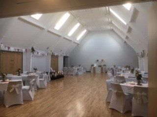 Wedding reception at Burton Pidsea Memorial Hall